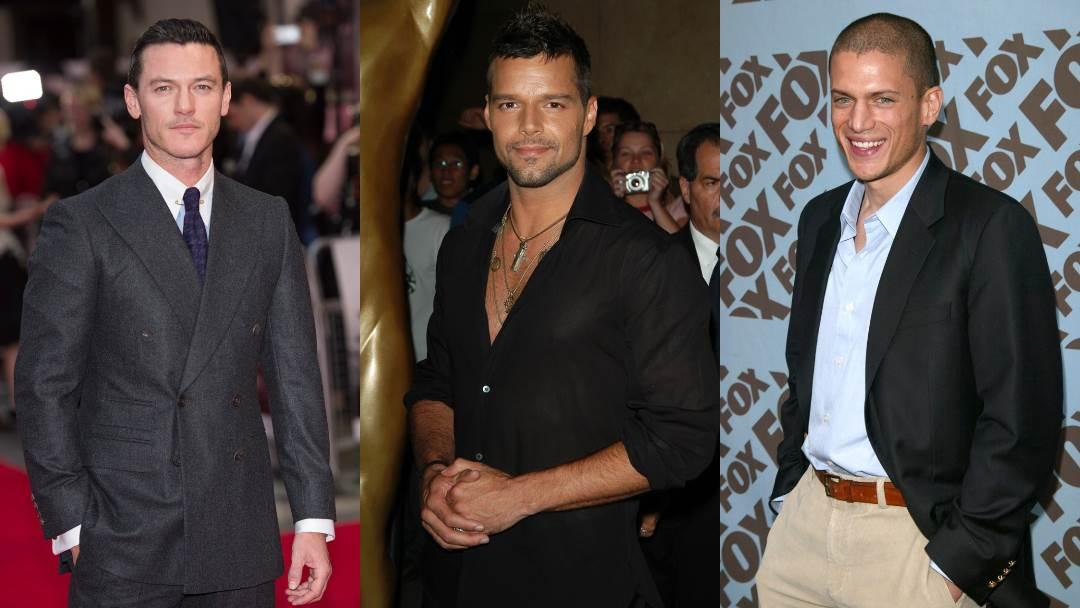 Luke Evans, Ricky Martin, Wentworth Miller