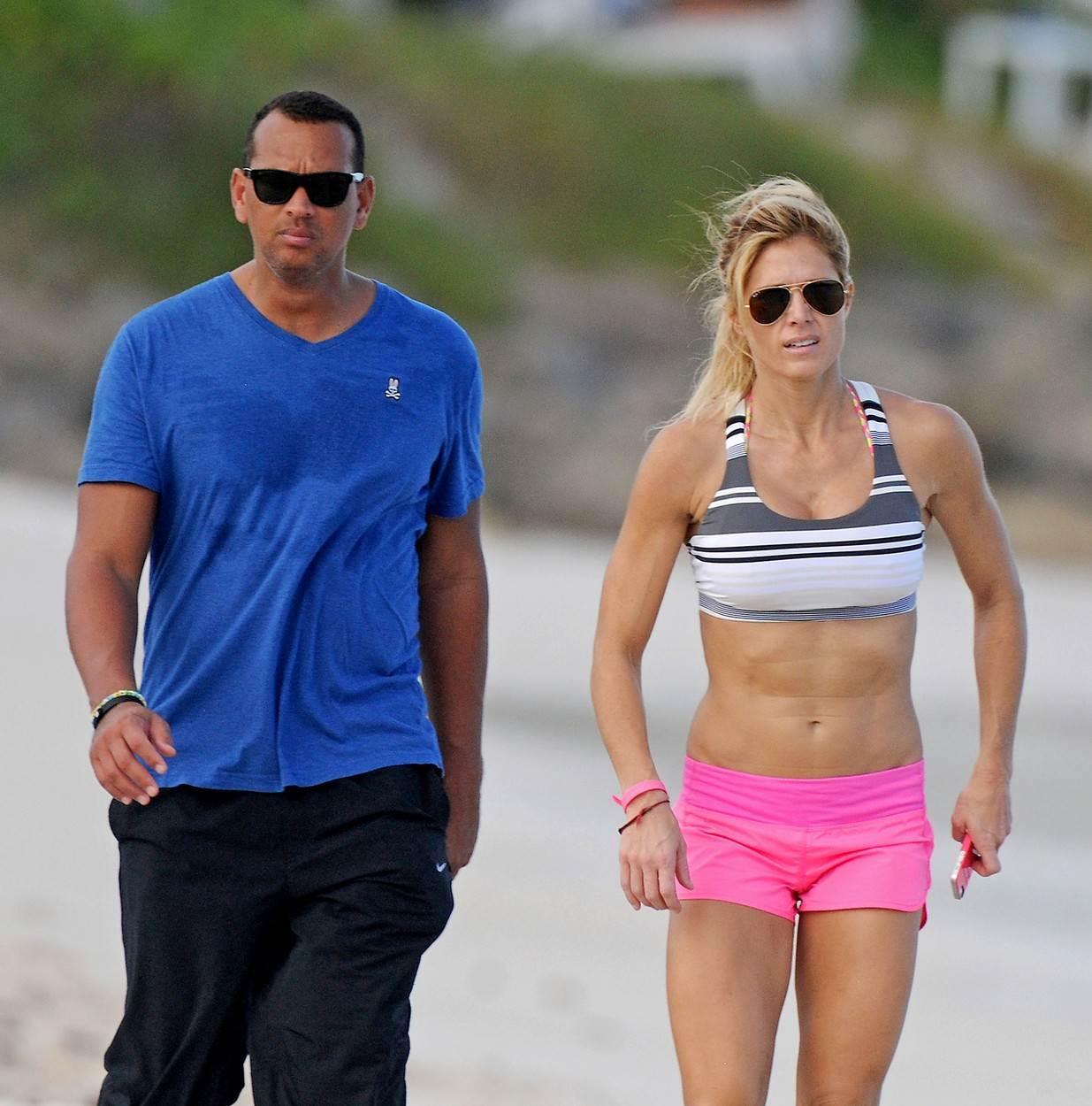 Alex Rodriguez i Torrie Wilson