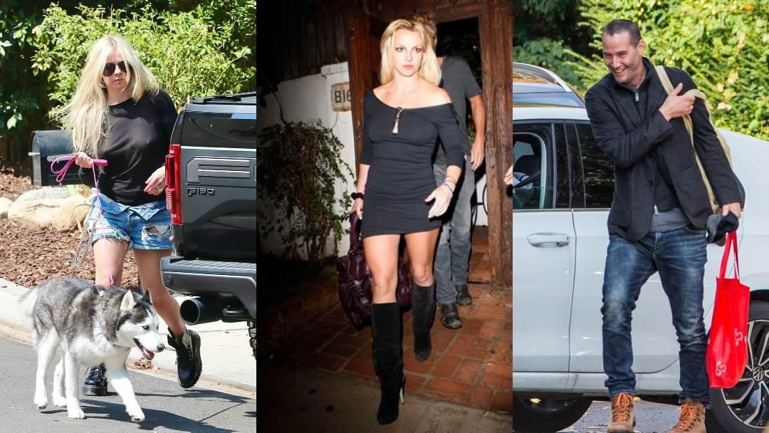 Avril Lavigne, Britney Spears i Keanu Reeves