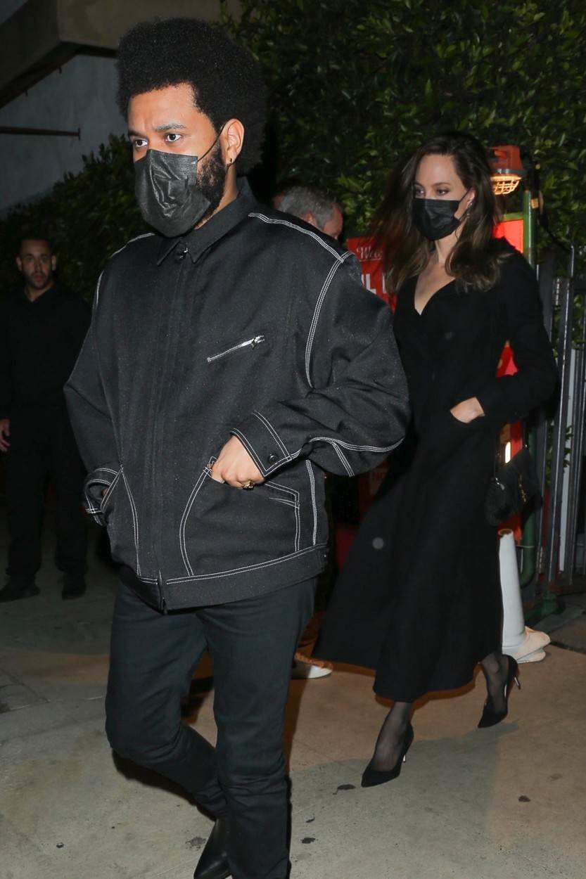 The Weeknd i Angelina Jolie