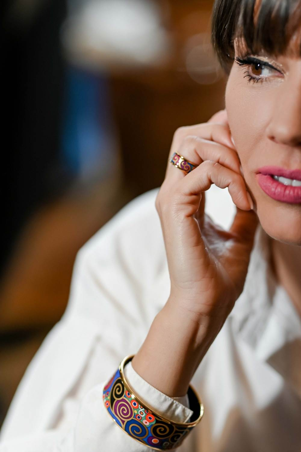 FREYWILLE Narukvica Donna i prsten Miss iz kolekcije Hommage à Gustav Klimt, set Dreams