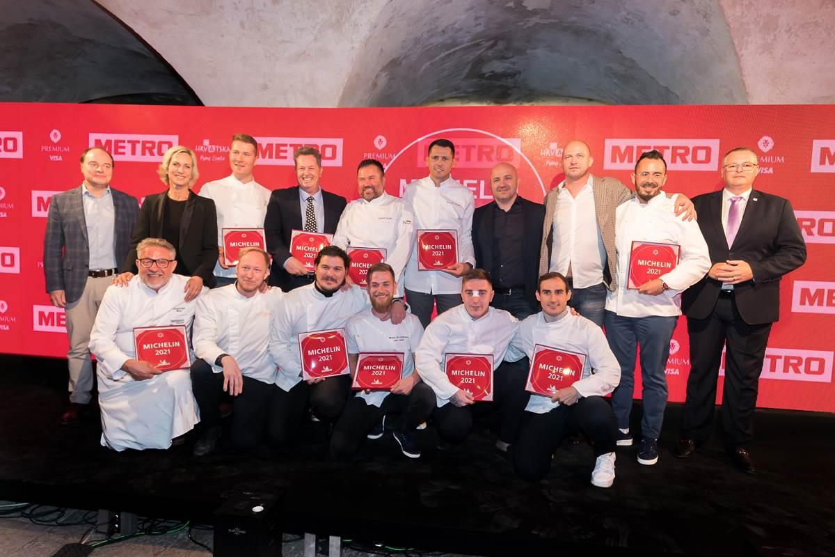 Dobitnici Michelinovih zvjezdica za 2021.