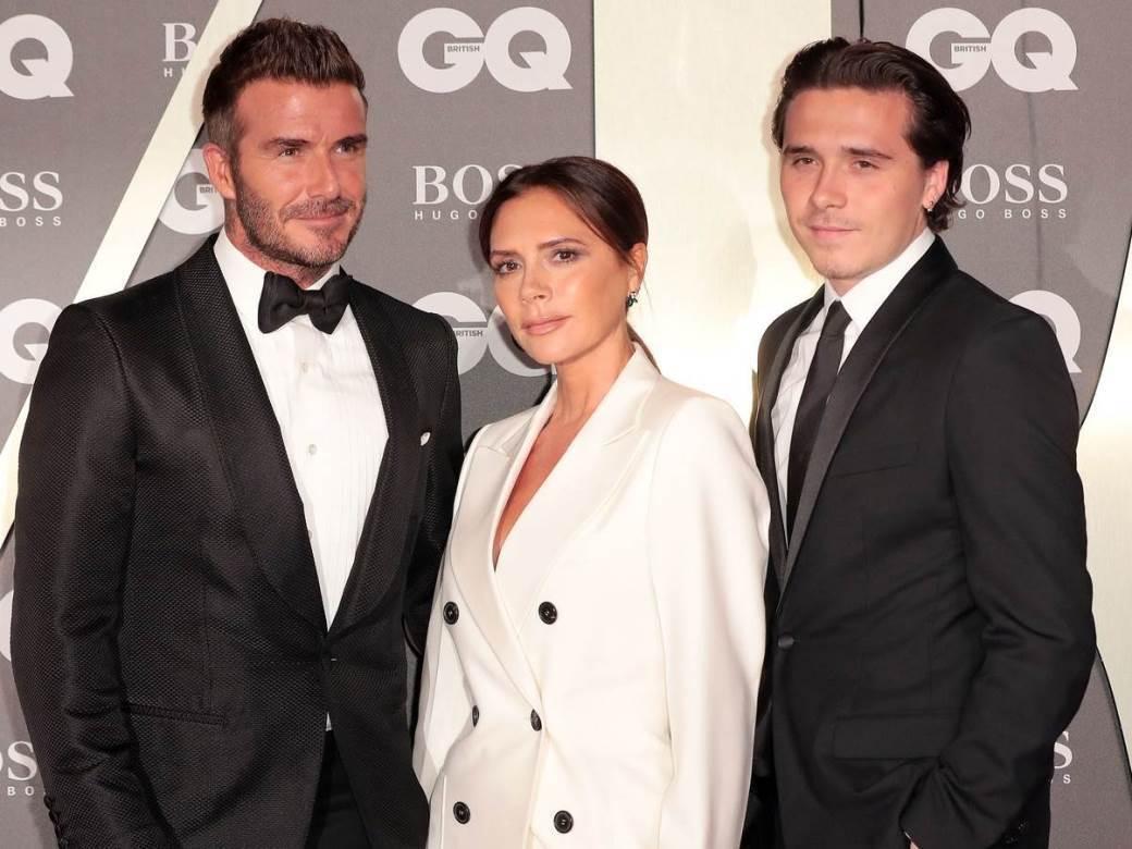 Brooklyn Beckham, Victoria Beckham, David Beckham