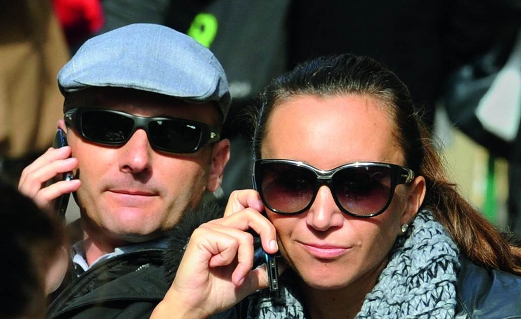 Denis Popović i Iva Majoli
