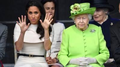 Meghan Markle i kraljica Elizabeta