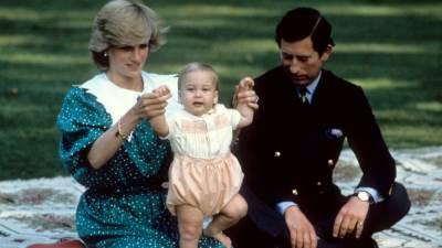 Princ William, princeza Diana i princ Charles