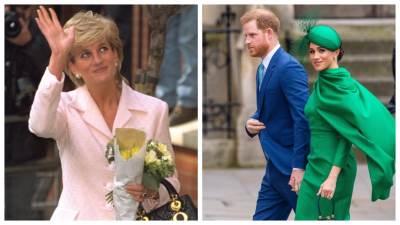 princeza Diana, princ Harry i Meghan markle
